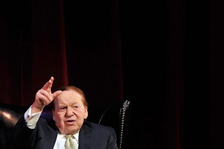 Macao condolences Adelson